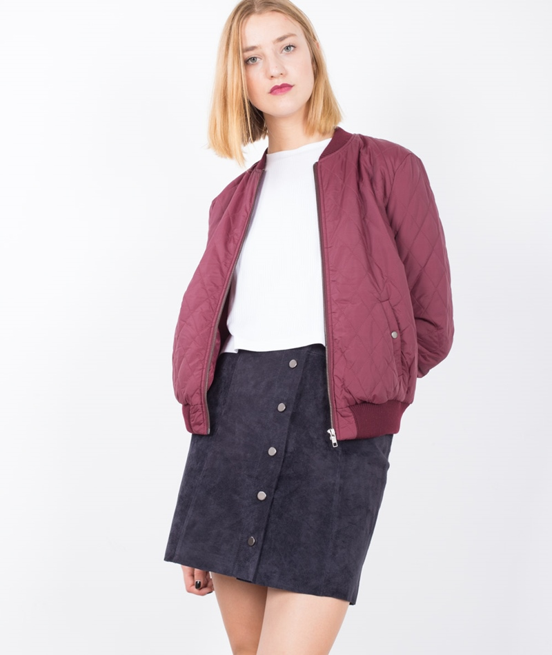 GLOBAL FUNK Import Jacke wine