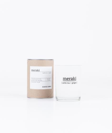 MERAKI Duftkerze White Tea & Ginger