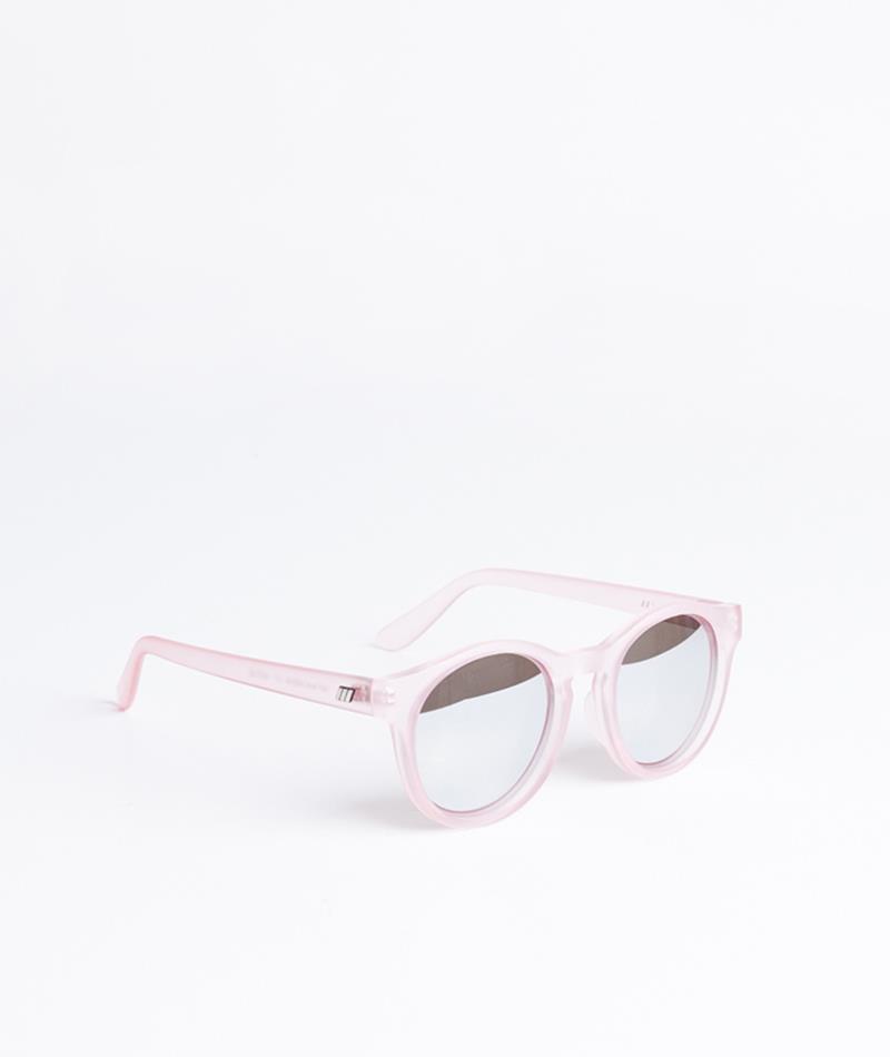 LE SPECS Macarena Sonnenbrille matt pink