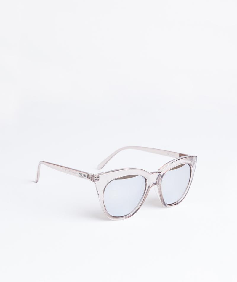 LE SPECS Halfmoon Sonnenbrille stone
