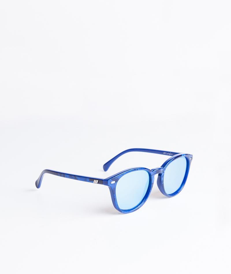 LE SPECS Bandwagon Sonnenbrille cobalt