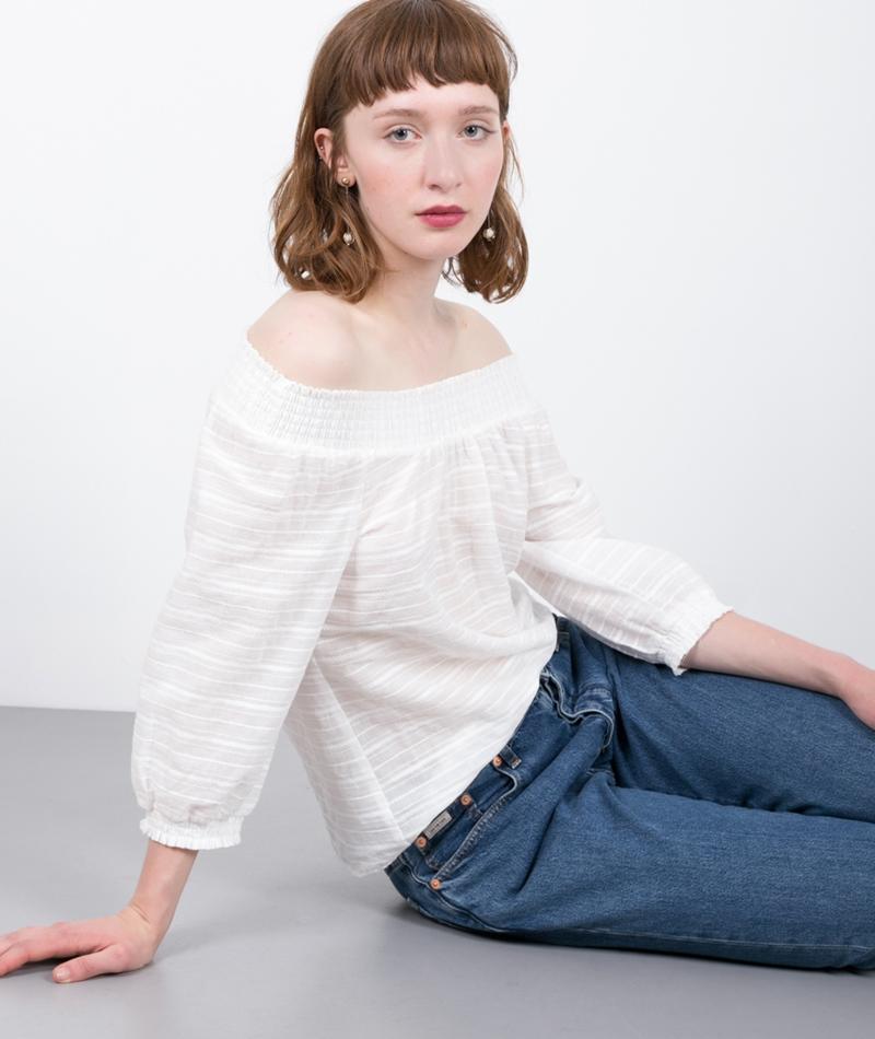 MOVES BY MINIMUM Menni Bluse white