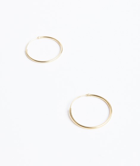 JUKSEREI Hoops Earrings gold