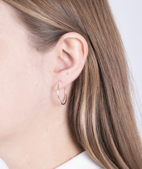 JUKSEREI Hoops Earrings silber