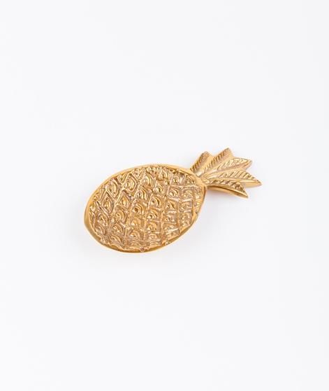 LIV INTERIOR Ananasschale klein gold