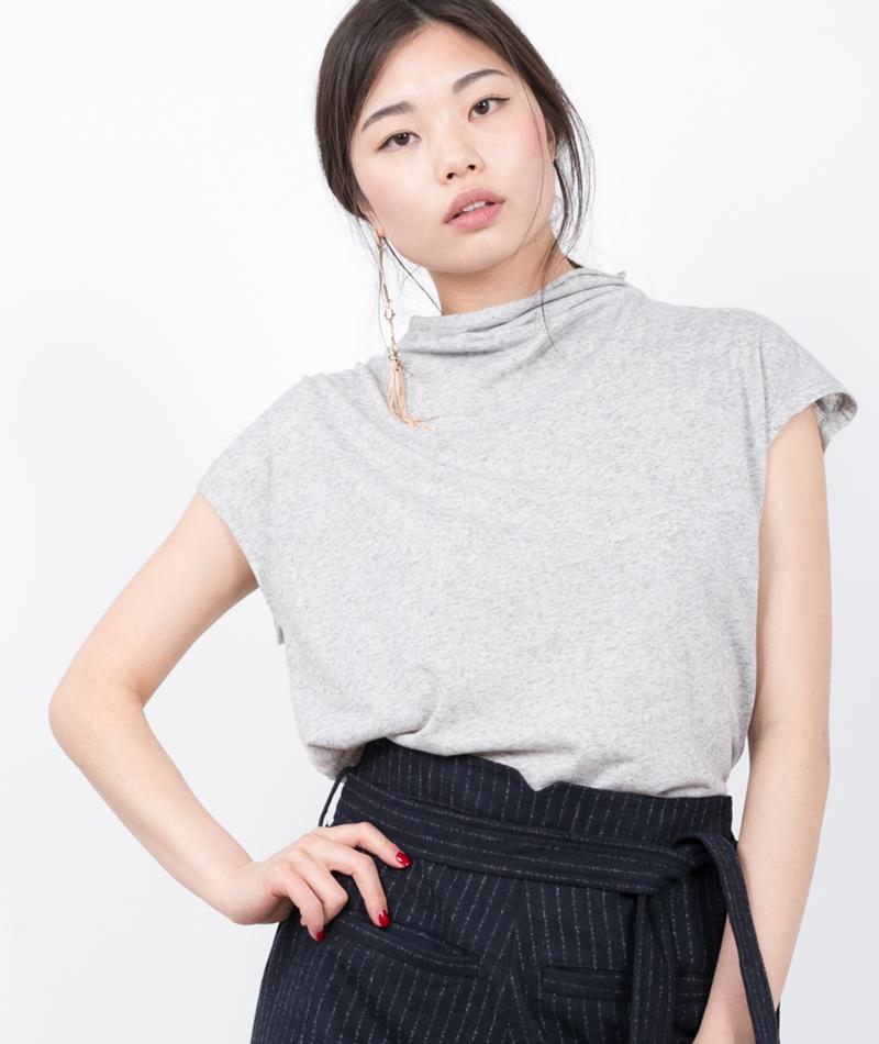 SELECTED FEMME SFIvy SL T-Shirt grey mel