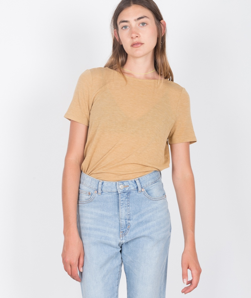 VILA Visilla T-shirt wood trush