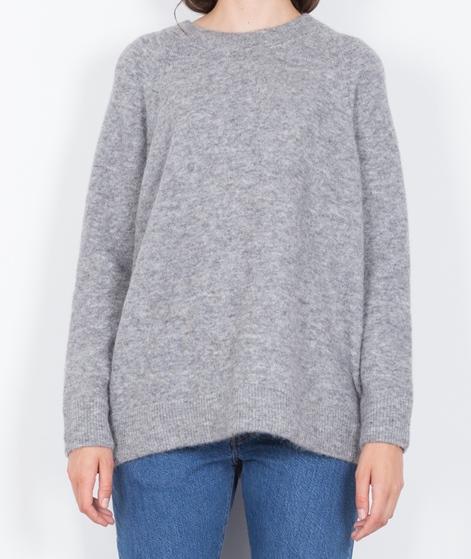 SAMSOE SAMSOE Nor O-N Long Pullover grey