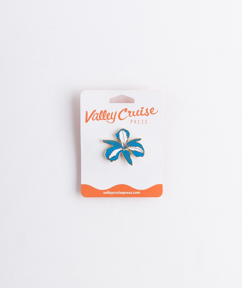 VALLEY CRUISE PRESS Jungle Flower Pin