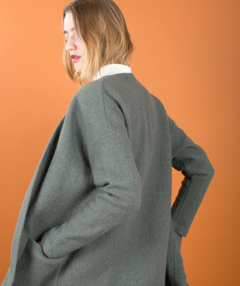 SELECTED FEMME SFDarla LS Cardigan thyme
