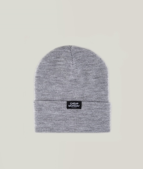 CHEAP MONDAY Cheap Beanie grey melange