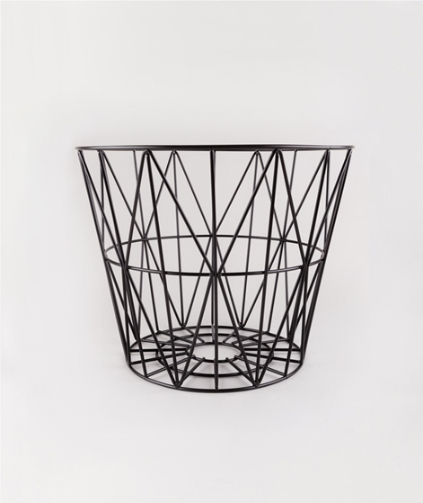 FERM Wire Basket medium black