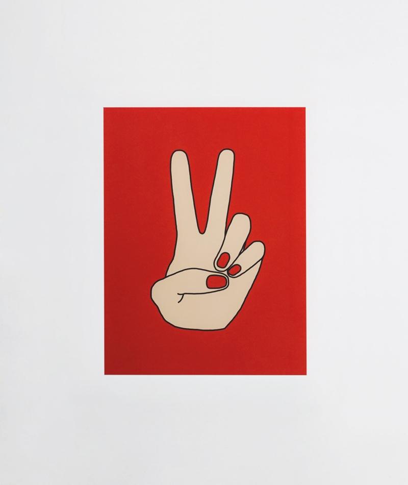 KAUF DICH GLÜCKLICH Poster Peace
