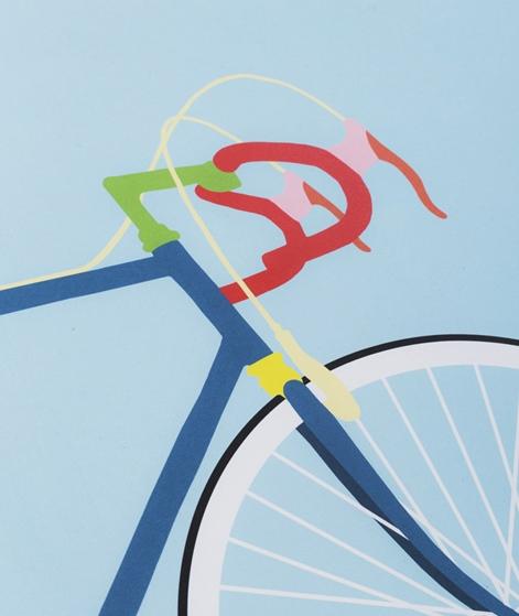 KAUF DICH GLÜCKLICH Poster Fahrrad
