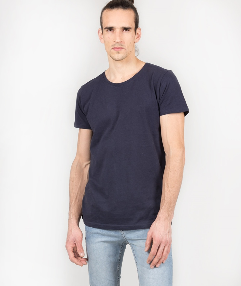 SUIT Anton T-Shirt navy blue