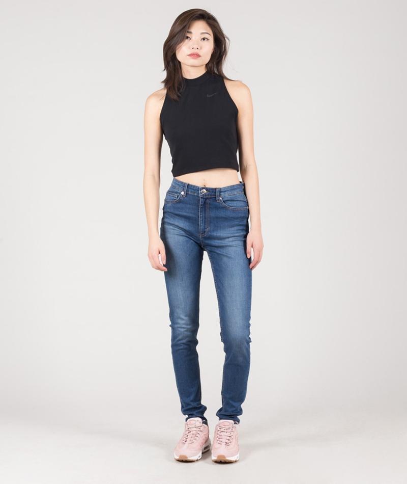 CHEAP MONDAY High Snap Jeans pop blue