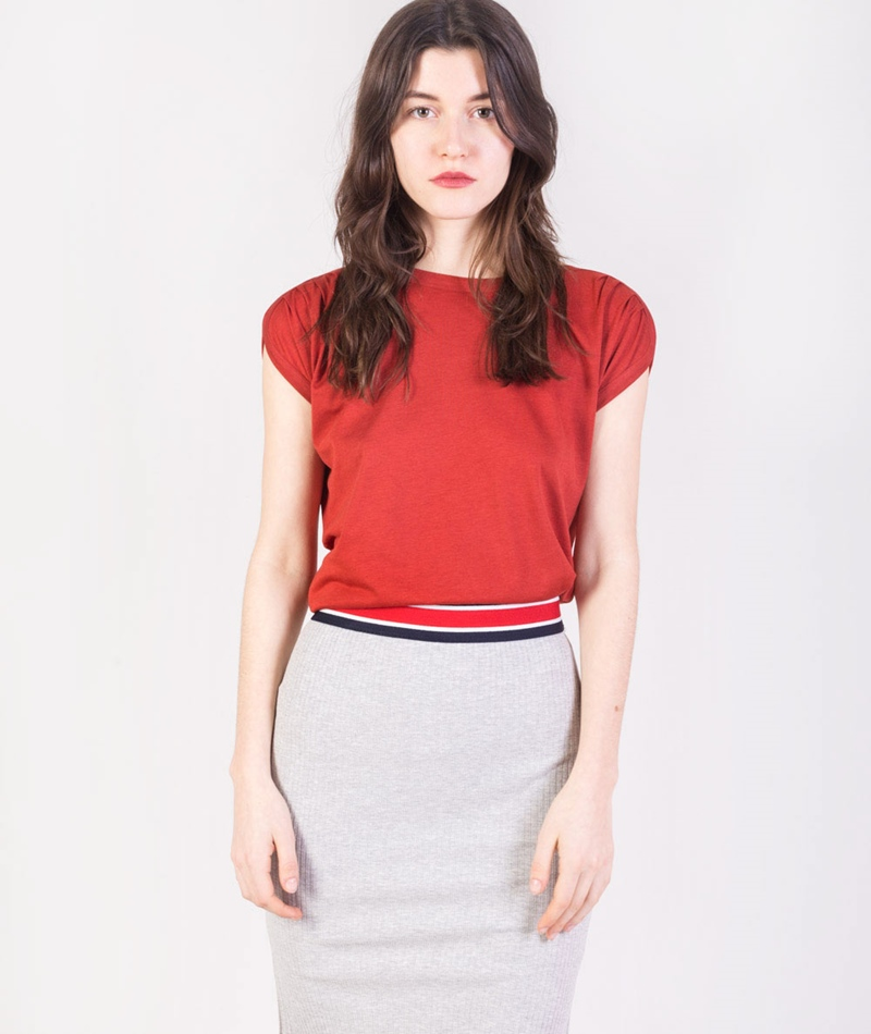 SESSUN Sixto Bluse kahle red