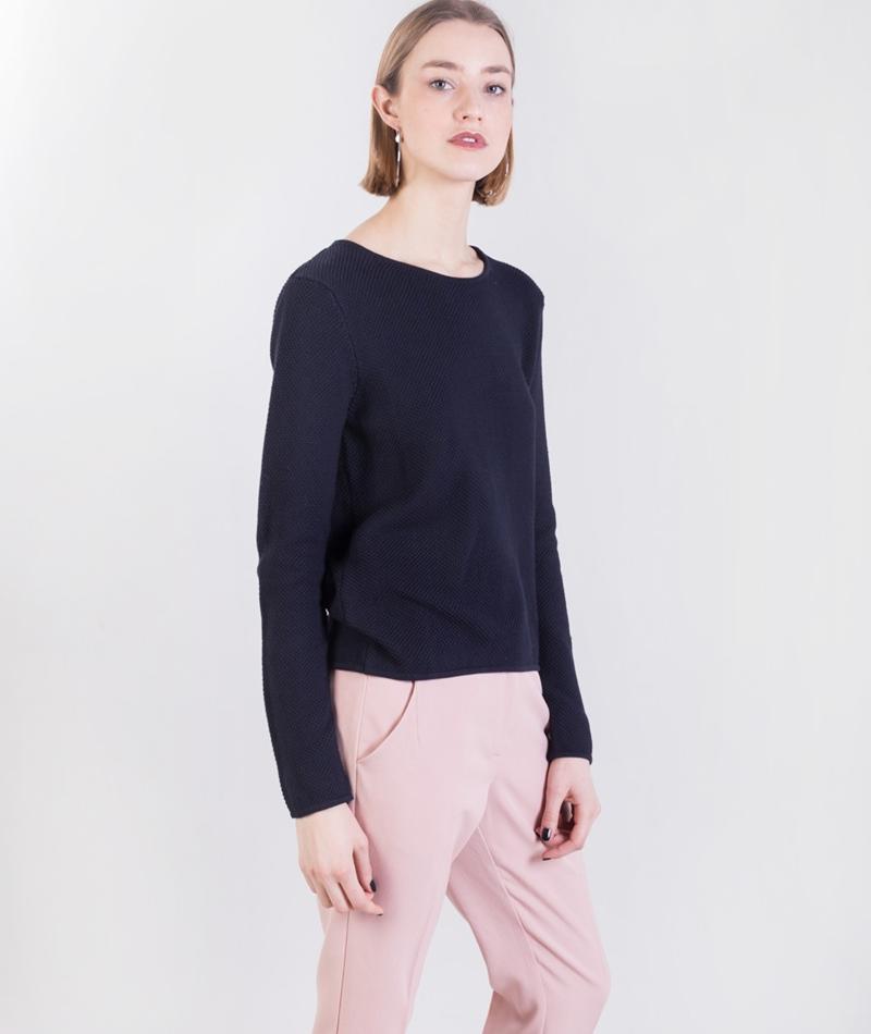 MINIMUM Hilde Knit Pullover dark navy