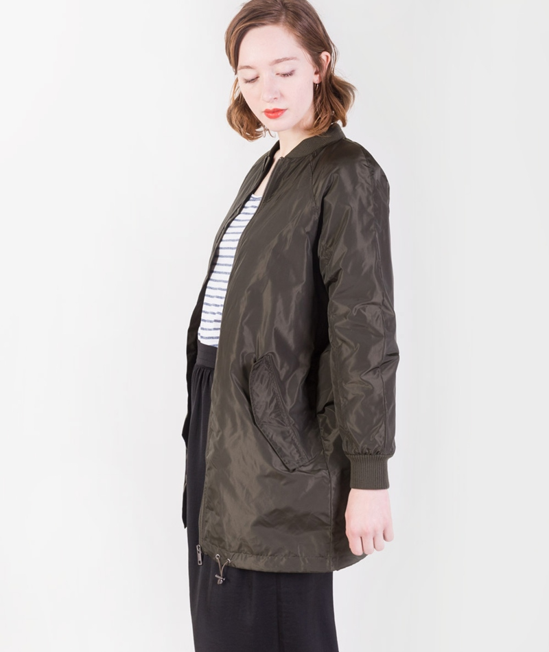 SELECTED FEMME SFVera Long Bomber Jacke