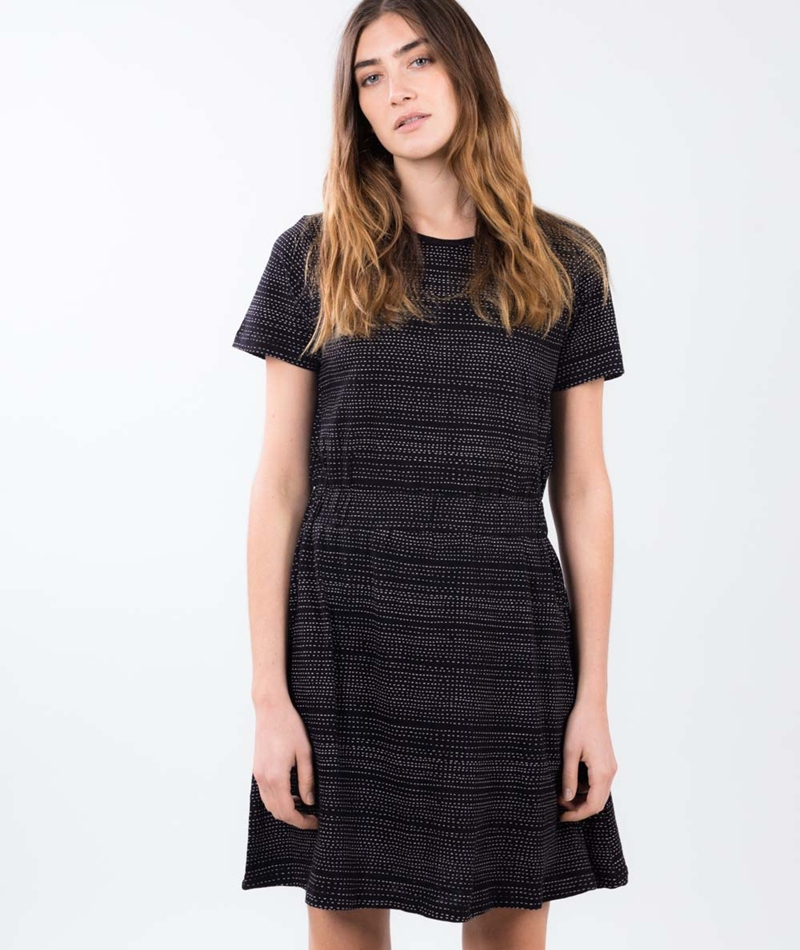 WEMOTO Moon Kleid black