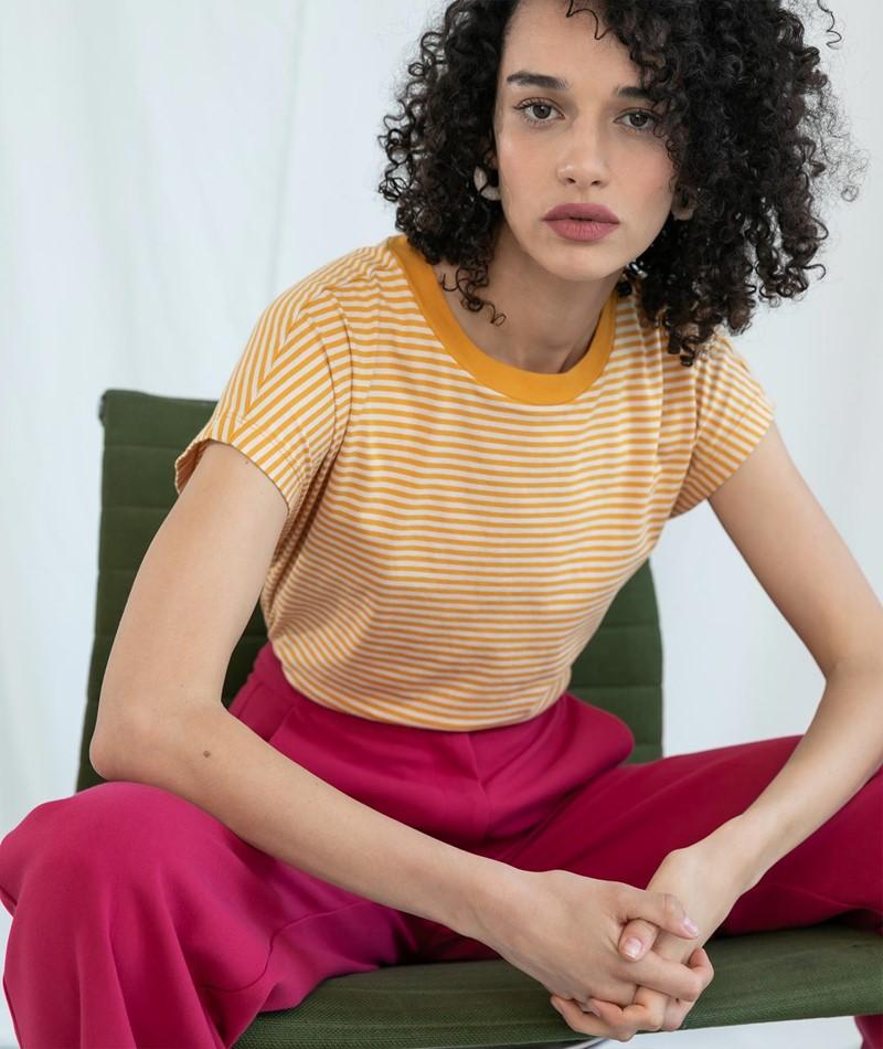 KAUF DICH GLÜCKLICH Alisa T-Shirt sunny