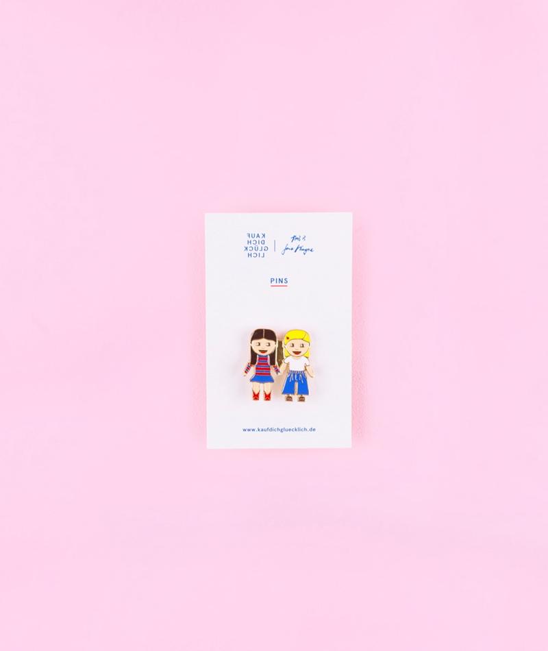 KDG x Jane Wayne Girls Pin