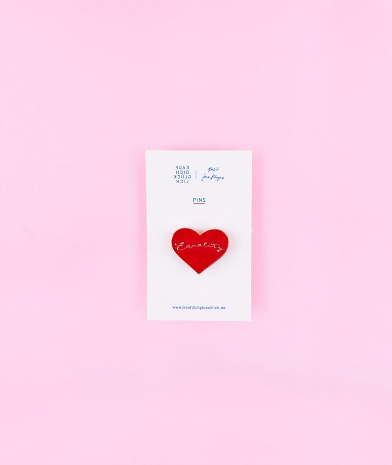 KDG x Jane Wayne Equality Heart Pin