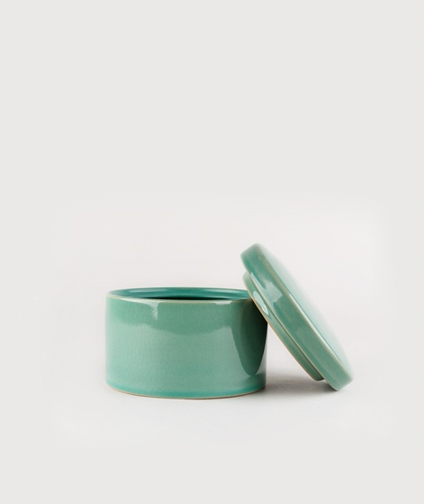 HOUSE DOCTOR Jar with Lid Croz green