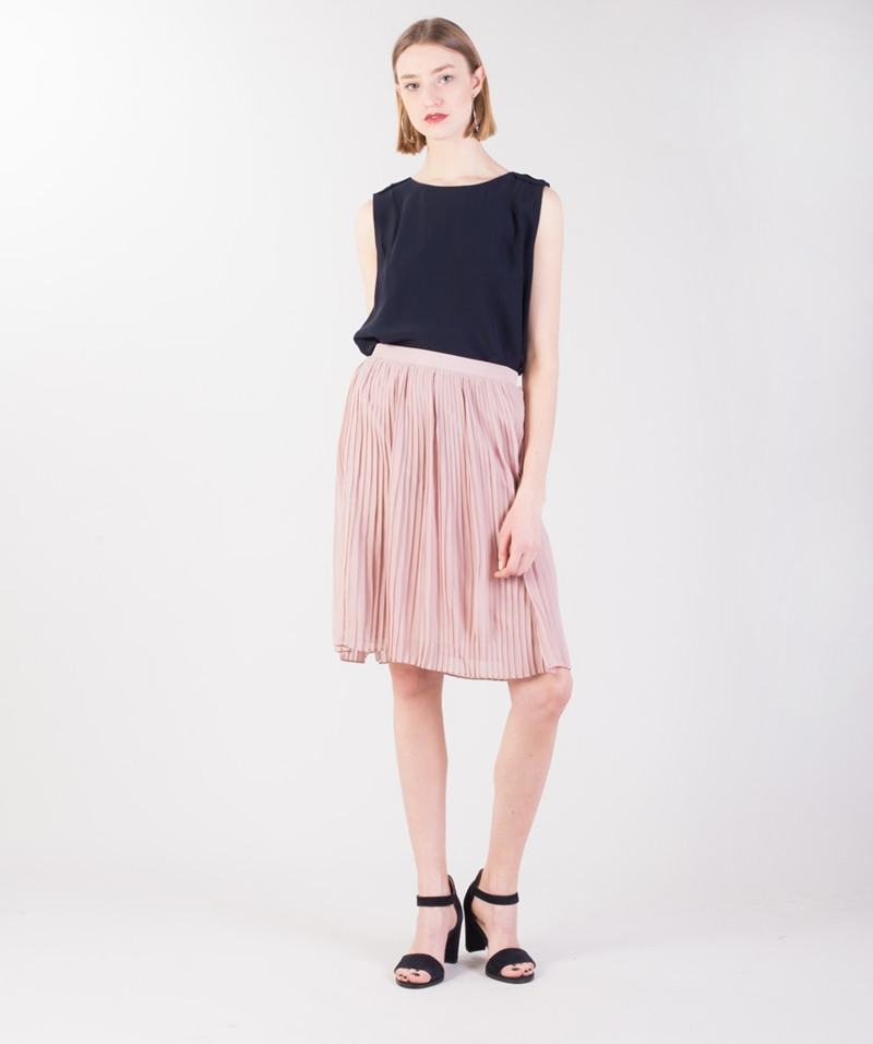 SELECTED FEMME SFMuki Midi Rock rose
