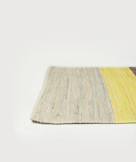 BROSTE teppich natalee leder/denim multi
