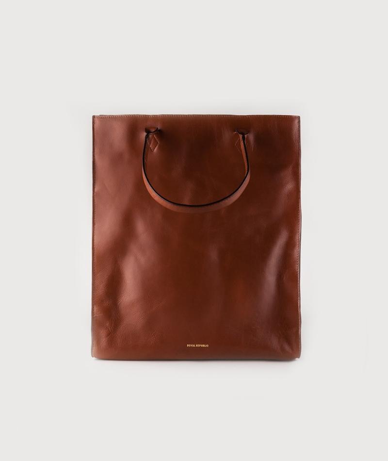 ROYAL REPUBLIQ Mel Tote Bag cognac