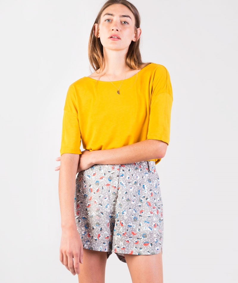 KAUF DICH GLÜCKLICH Ela T-Shirt yellow