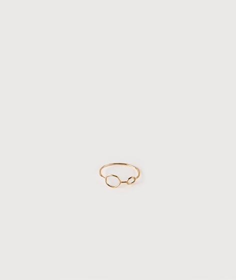 LOUISE KRAGH Hangaround Ring gold