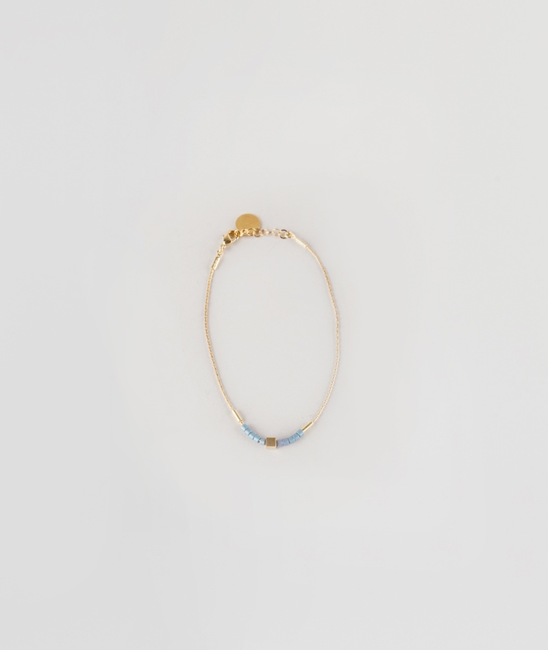 TOMSHOT Rocaille Armband gold
