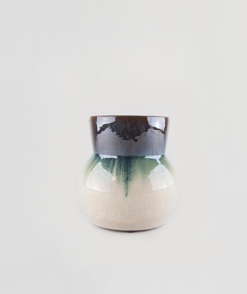 HOUSE DOCTOR Vase Flower grün