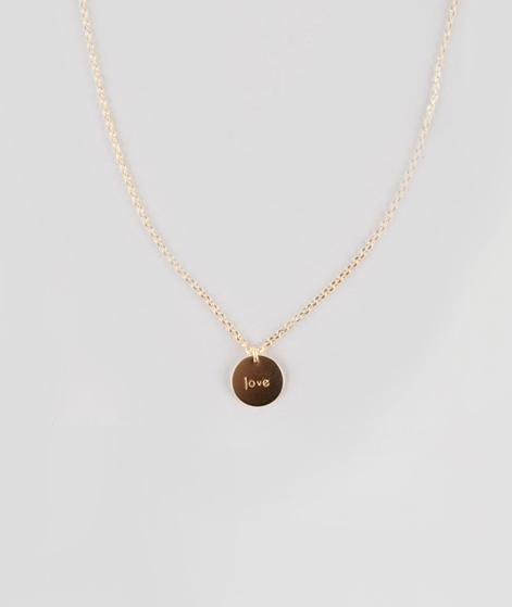 ELLISUE Love Kette gold