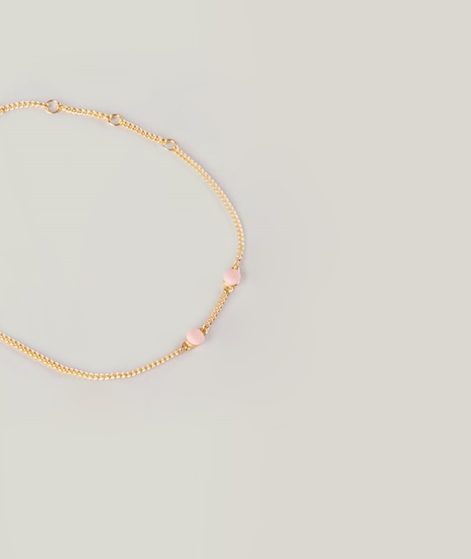LOUISE KRAGH Microdot Armband pink coral