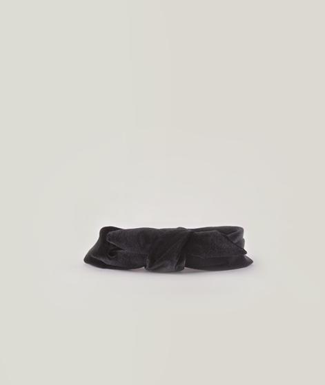 EBBA Velour Haarband schwarz