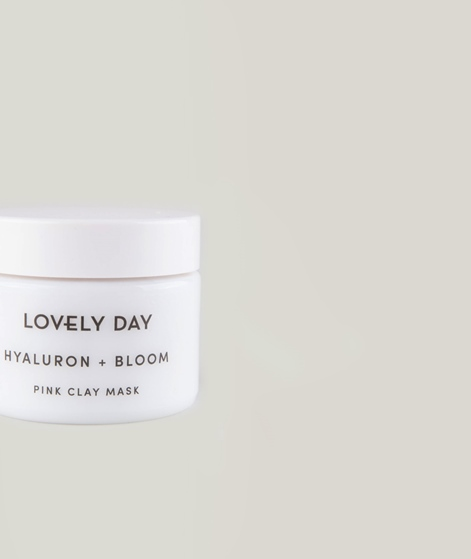 LOVELY DAY BOTANICALS Hyaluron Pink Clay