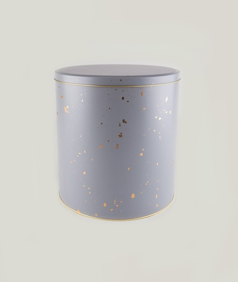 FERM LIVING Tin Box grau groß
