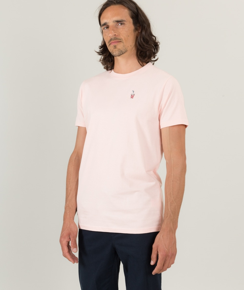 WEMOTO Shake T-Shirt peach