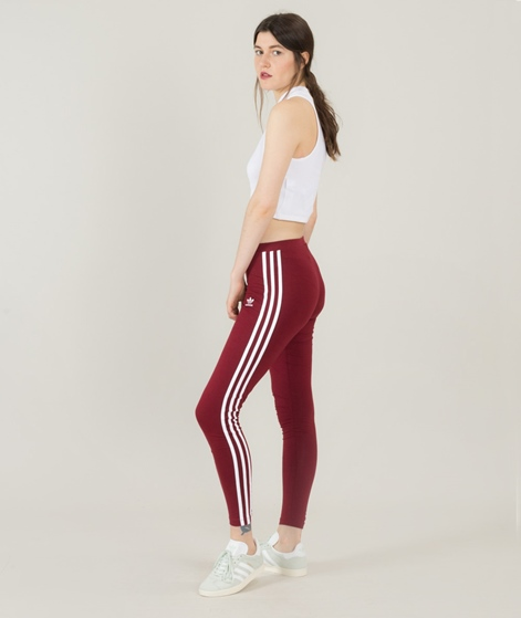 ADIDAS 3Stripes Leggings burgundy