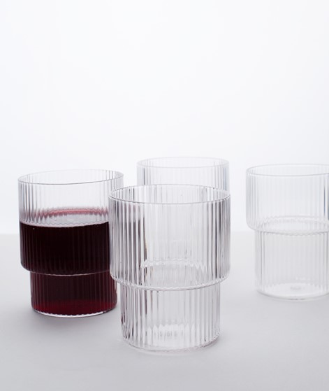 FERM LIVING Ripple Glas Set medium