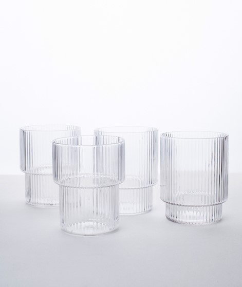 FERM LIVING Ripple Glas Set