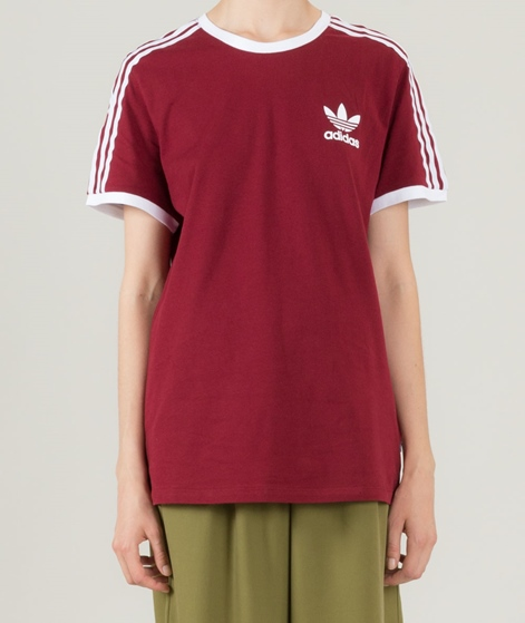 ADIDAS 3Stripes T-Shirt burgundy