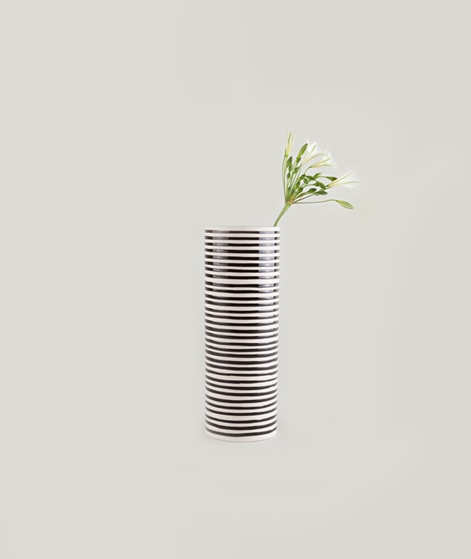 LIV INTERIOR Carol Vase Stripes