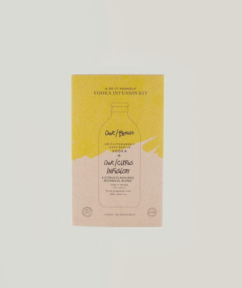 OUR/BERLIN Vodka Tea Infusion Citrus