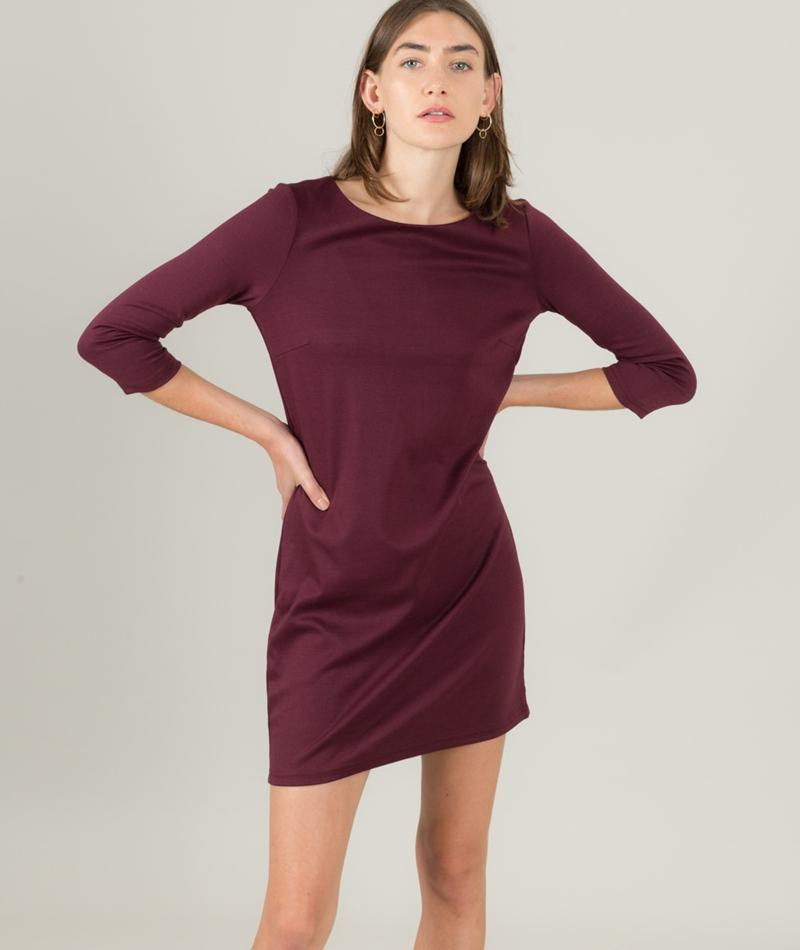 VILA Vitinny Kleid fig