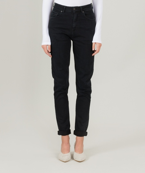 GLOBAL FUNK Burma Mom Jeans black