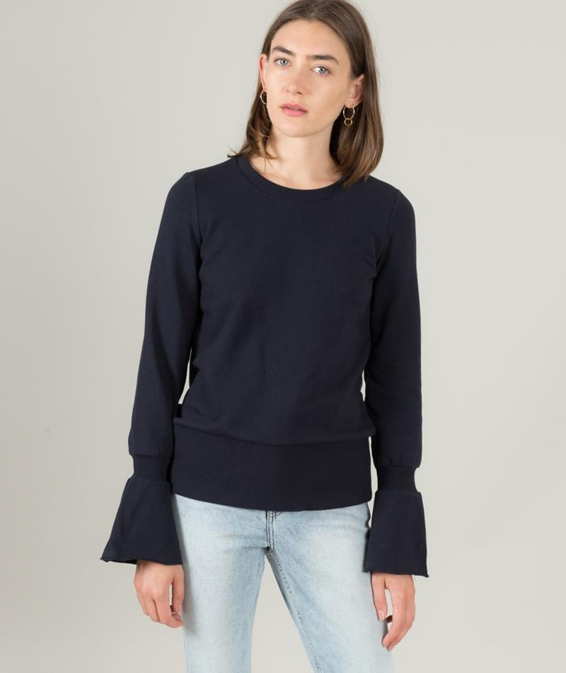 VILA Vimista Sweat Pullover navy